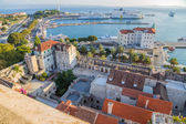 Split. View from bell tower — Stock Photo