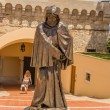Monaco. Statue of Francesco Grimaldi — Stock Photo #38285721