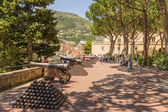 Cannons near the Prince's Palace of Monaco in Monaco-Ville — Stock Photo