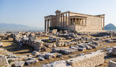 Acropolis of Athens. Erechtheion — Stock Photo
