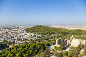 View of Athens from Acropolis — Stock Photo