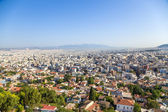 Athens. View of city from Acropolis — Стоковое фото