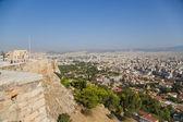 Athens. Walls of Acropolis — Stock Photo