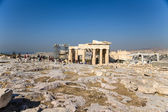 Propileus da Acrópole ateniense — Fotografia Stock