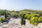 雅典。查看从亚略巴古 — 图库照片