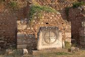 Griechenland. archäologische Stätte von Delphi (detail) — Stockfoto