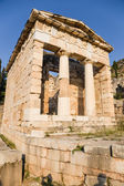 Greece, Delphi. Treasury of Athens — Stok fotoğraf