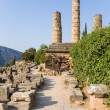 Постер, плакат: Greece Delphi The Temple of Apollo