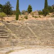 Stock Photo: Greece, Delphi. Theatre