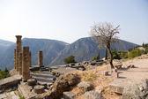 Grecja, delphi. Świątynia Apollina — Zdjęcie stockowe