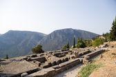 Greece, Delphi. The Temple of Apollo — Stock Photo