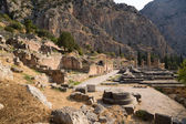 Greece, Delphi. The Temple of Apollo — Stock Photo