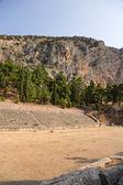 Grecja. stadion w delphi (v w. p.n.e) — Zdjęcie stockowe