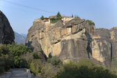 Meteora, Greece. The Holy Trinity Monastery (UNESCO list of World Heritage) — Stok fotoğraf