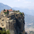 Stock Photo: Meteora, Greece. Holy Trinity Monastery (UNESCO list of World Heritage)