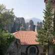 Meteora, Greece. Holy Monastery of Rousanou (St. Barbara), (UNESCO list) — Stock Photo #39977137