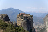 Meteora, Greece. The Holy Trinity Monastery (UNESCO list of World Heritage) — Stock Photo