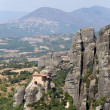 Meteora, Greece. Holy Monastery of Rousanou (St. Barbara), (UNESCO list) — Stock Photo #39980237