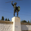 Постер, плакат: Greece Thermopylae A monument to Leonidas