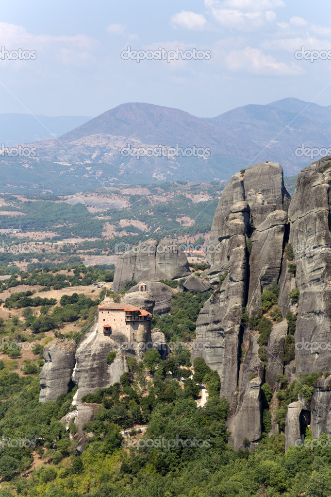 Meteora, Greece. The Holy Monastery of Rousanou (St ...