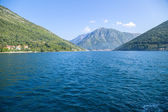 Montenegro. The Bay of Kotor — Stock Photo