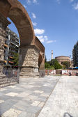 Greece, Thessaloniki. The ruins of the Roman Emperor Galerius arch (IV c.) — Stock Photo