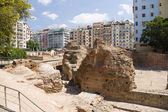 Greece. Ruins of the palace of the Roman Emperor Galerius (III c.) In Thessaloniki — Stock Photo