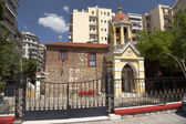 Grecia. chiesa a salonicco — Foto Stock