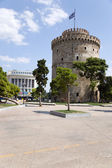 Thessaloniki, Greece. The White Tower — Stock Photo