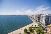 Thessaloniki, Greece. Seafront — Stock Photo