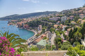 Town of Villefranche-sur-Mer, France. The bay of Villefranche — Stock Photo
