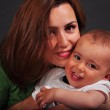 Mother and baby boy — Stock Photo
