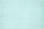 Valentine s blue polka dot heart — Foto Stock