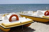 Catamarans for tourists — Stock fotografie