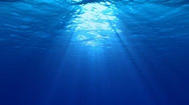 Underwater Lights — Stock Video