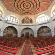 Stock Photo: Inside protestant church