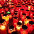 Stock Photo: Candlelight on remembrance day