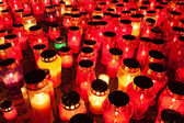 Candlelight on a remembrance day — Stock Photo