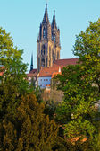 Meibner Dom the part of the Albrechtsburg castle — Stock Photo