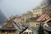 Roofs of Trzic — Stock Photo