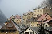 Roofs of Trzic — 图库照片