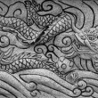 Stock Photo: Stone carve dragon