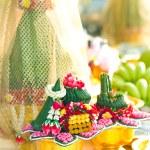 Thai engagement ceremony — Stock Photo