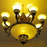 Vintage chandelier — Stock Photo #41358823