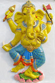 Ganesha stand on a lotus — Stockfoto