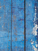 Blue wooden floor — Stock Photo