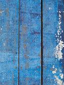 Blue wooden floor — Stock Photo