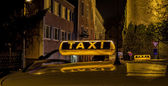 Taxi light — Stock Photo