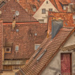 Tiled roofs — Stock fotografie #38323625