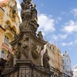 Statue in Karlovy Vary — Stock Photo